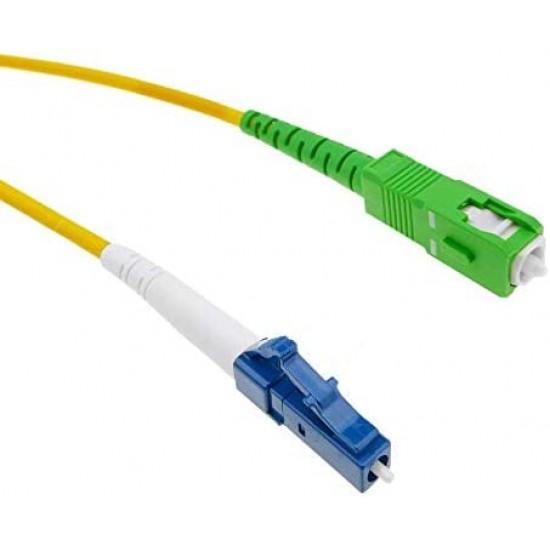 Langzhi - Fiber optic cable LC/PC to SC/APC monomode simplex 9/125 10 m
