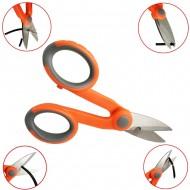 Fiber Cable Cutting / Kevlar Cutter Tools / Slip-resistant Scissors / Steel Electrician Scissors