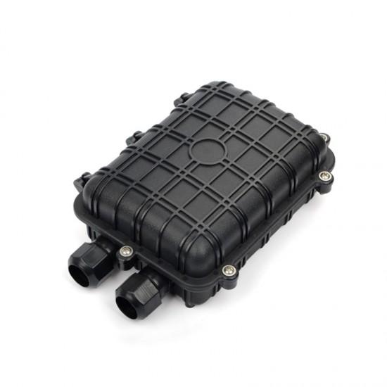 12 Core Optical Fiber Splice Box type telecom alport fosC 1 inlet 1 out port joint closure factory wholesale