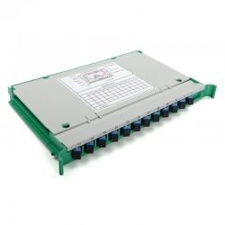 Fiber Optic Splice Tray 30 SC 12 Core FTTH Fusion APC ODF Cabinet Distribution Integrated module factory wholesale