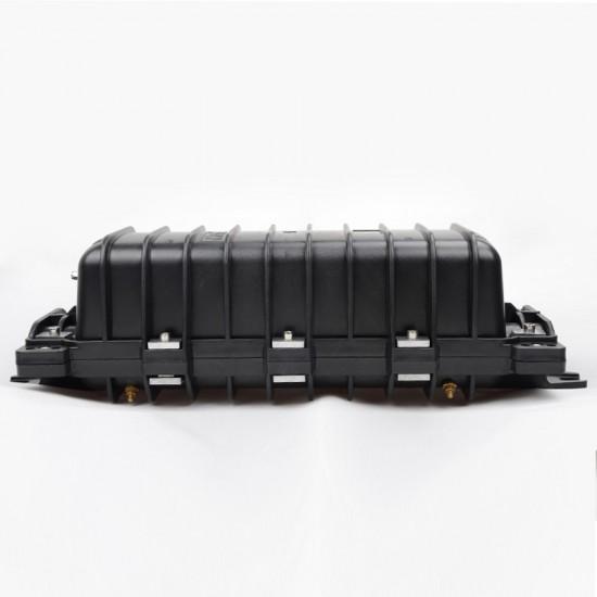 144 Core Optical Fiber Splice Box Horizontal type telecom waterproof FOSC 2 inlet 2 out port joint closure Factory wholesale