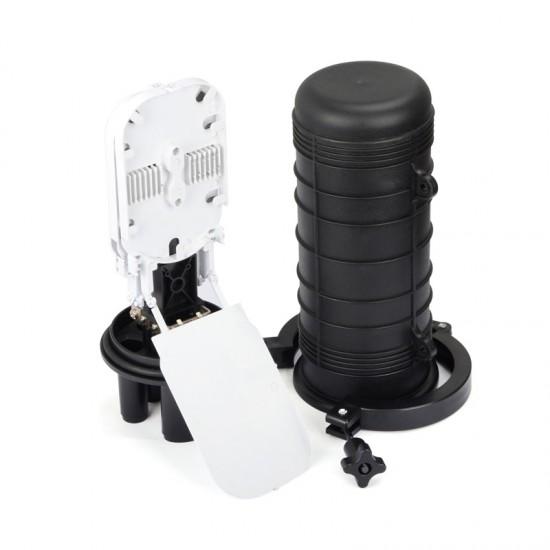 24 Core Optical Fiber Splice Box Telecommunication Equipment dome type ABS material Fiber Optic Splice Closure