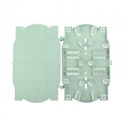 Fiber optic splice tray 24 Core FTTH Fusion Tray Distribution Box,Welding Equipment Termination Box factory wholesale