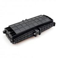 48 Core Optical Fiber Splice Box Horizontal type telecom waterproof FOSC 3 inlet 3 out port joint closure 24