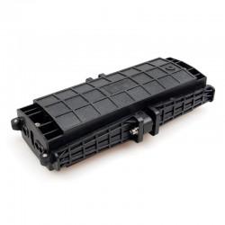 48 Core Optical Fiber Splice Box Horizontal Typ Telekommunikation wasserdicht FOSC 3 Einlass 3 Ausgang Port Gelenkverschluss 24