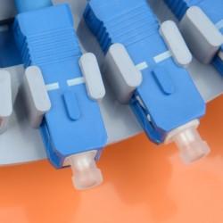 Fiber Optic Splice Tray SC 12 Core Pigtail FTTH Fusion APC ODF Cabinet Distribution Integrated module factory wholesale