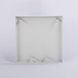Fiber Optic Informationsbox Optik Termintion Box FTTH Faser Home Box Panel 86 Netzwerk 2 rj45 1 optische Kunststoff-Faceplate