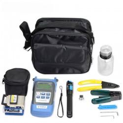 1mW 레이저 펜 시각적 결함 로케이터 및 섬유 칼 FC-6S 케이블 스트리퍼와 광섬유 도구