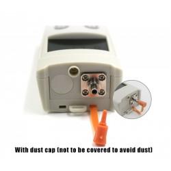 APM60T FTTH portátil Mini fibra óptica Mini medidor de potencia óptica probador cabeza universal simple y precisión LED detector de fibra