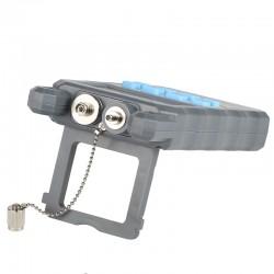 Gris 10MW AUA-80A medidor de potencia óptica de luz roja máquina de fibra de la luz decaimiento fuente de luz roja 10 km
