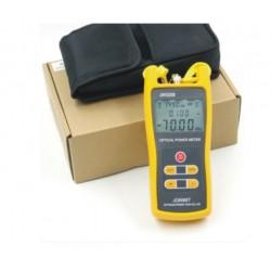 Medidor de potencia óptica portátil JoinWit JW3208A -70o +3dBm para telecomunicaciones
