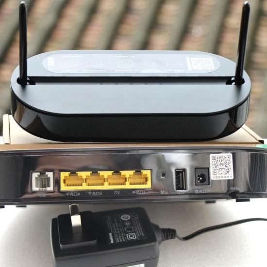 HS8145V EPON  GPON ONU ONT HGU Dual Band Router 4GE+Wifi2.4GHz /5GHz