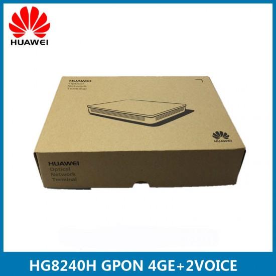 Huawei 2POTS+4GE ftth GPON ONT EchoLife HG8240H