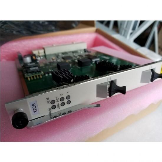 Huawei original X2CS modelo 10G SFP uplink incluindo 2 Peças de H801X2CS modelo cartão para MA5680T e MA5683T OLT