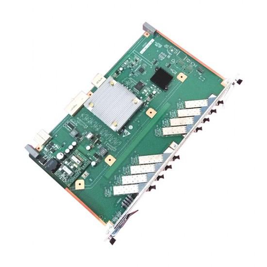 HUAWEI Mini OLT MA5608T Met DC Power MPWC 1G controlekaart MCUD En 16 poorten GPFD C + SFP modules