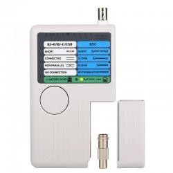 Neue Fernbedienung RJ11 RJ45 USB BNC LAN NetzwerkKabel Tester für UTP STP LAN Kabel Tracker Detektor Top Quality Tool