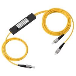 FC/UPC 1x2 Fiber FBT Separador de fibra de fibra de modo único FBT Separador