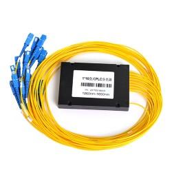 PLC Splitter con paquete de caja ABS de plástico (1x16, SC/UPC)