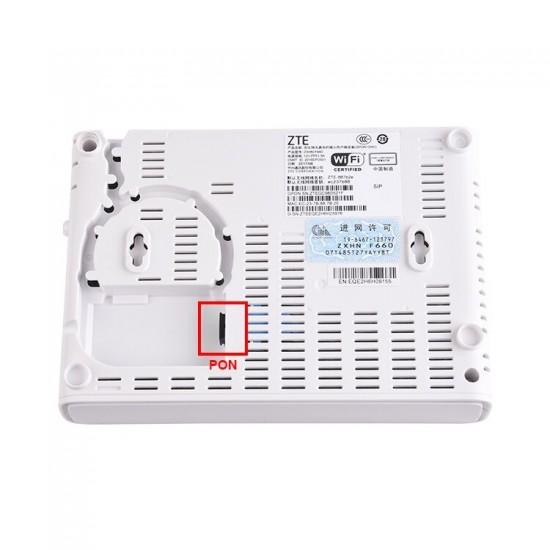 ZTE F660 V6.0 onu gpon 1 port ge 1GE+3FE+1Port+WIFI  GPON ONU