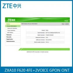 GPON ONU ZTE ZXA10 ZXHN ONT F620