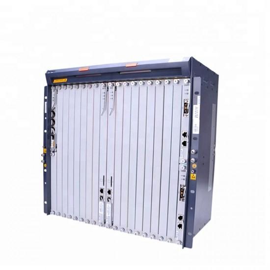 ZXA10 C300 ZTE OLT 2 * HUVQ 1G Uplink Boord 2 * SCXN Besturingskaart 2 * PRWH FTTH GEPON optische lijn terminals