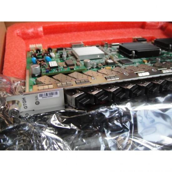 Placa dos serviços gtghk gtghg de zte olt 16 portos b + c + c + + gpon cartão com 16 módulos de sfp para zte gpon olt c300 c320