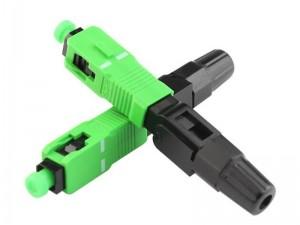 SC  APC fiber optic connector installation video